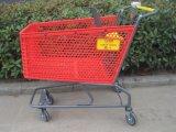 Supermarché plastique Plastomère commercial Main Trolley panier