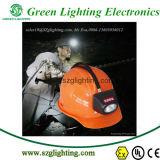 lámpara de casquillo sin cuerda de la explotación minera de la seguridad del CREE 4.5ah con la visualización del LCD
