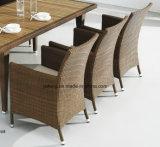 Jogo de jantar impermeável ao ar livre ajustado da tabela do &Teak da cadeira da mobília do hotel da qualidade superior (YTA100&YTD368)