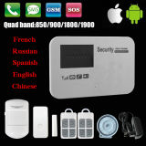 Dessus ! ! ! Système d'alarme intelligent d'OEM de &GSM de garantie à la maison avec l'androïde et l'IOS $$etAPP