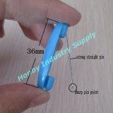 Pin di plastica di Hijab di figura di ovale di disegno standard 36mm per le donne