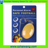 Сигнал тревоги Keychain личного футбола сигнала тревоги безопасного миниый личный