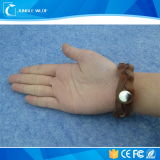 Wristband barato de la frecuencia ultraelevada RFID de la aduana 13.56MHz