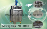 Steel di acciaio inossidabile Mixing Tank 500L Juice Mixing Tank