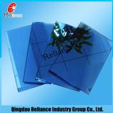 6mm ISO Cercificate를 가진 진한 파란색 사려깊은 유리 또는 창 유리 건물