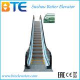 Ce escada rolante interna e magro de Vvvf com 35 graus