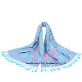 O Peony chinês floresce o lenço do xaile para mulheres