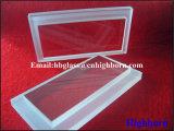 La grande pureté personnalisent des disques en verre de quartz de silice d'échelle