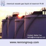 Reservatório de petróleo líquido R-08 do gás químico não padronizado das embarcações