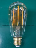 Lámpara de filamento del LED St64 4W E27/B22