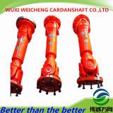 높은 주문을 받아서 만들어진 SWC Cardan 샤프트는 기름 /Petroleum 기계장치에서 적용했다