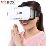 iPhone、Samsung 4.7~6inch MovieのためのVr Box Virtual Reality Headset 3D Glasses Adjust