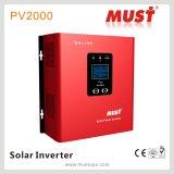 Inversor solar del híbrido 2000va con el regulador de 30A PWM