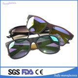 Óculos de sol unisex à moda do PC do vintage da forma por atacado feita sob encomenda