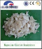 Klimaschnee-schmelzender Agens, weißes Flocken-Mg-Chlorid