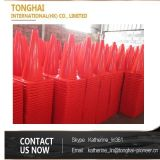 PVC反射可変性の高品質のゴム製安全道路交通の円錐形