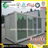 Camera prefabbricata del contenitore della parete di vetro