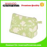 洗面用品のための2017の卸売のカスタム正方形のキャンバス装飾的な旅行袋