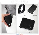 Бумажник 2016 новых людей фабрики типа Bifold сразу оптовых кожаный
