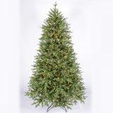 Personalizar a árvore de Natal artificial ao ar livre gigante do festival da forma com luz do diodo emissor de luz