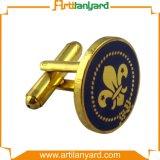 Personifiziertes Form-Manschettenknopf-Überzug-Gold