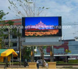 P12 게시판을 광고하는 옥외 LED 영상 벽 스크린 전시 LED