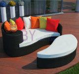 屋外のPEの藤浜のSunbedの庭の家具