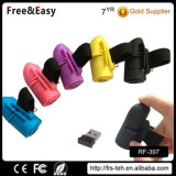 小さい携帯用コードレスUSB再充電可能な指リングマウス