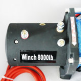 SUVのトラックのウィンチのオフロード電気ウィンチ(8000lbs-1)