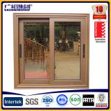 Домоец кухни сползая покрытие порошка окна орденской ленты/отражательное стеклянное двойное окно слайдера