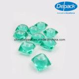 10g 박하 녹색 2X 소형 세탁물 액체 깍지, 집중된 액체 깍지 제조자 ODM&OEM