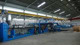 Producción plástica de la hoja compuesta de aluminio del panel del PE que saca haciendo la máquina
