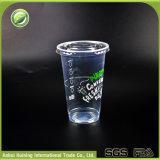 copos de chá desobstruídos plásticos descartáveis da água 20oz/600ml