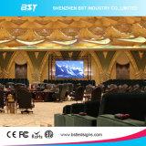 pantalla de visualización video fija de interior de la echada SMD LED del pixel de 3m m con 64 la resolución del módulo de X 64dots