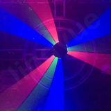 RGB Nine Heads Spider DMX Stage Laser Lighting para o clube