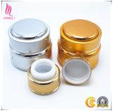 Envases cosméticos de la hebra de oro al por mayor del fabricante para la crema corporal