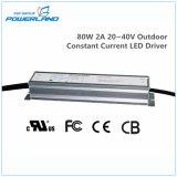 excitador impermeável atual constante ao ar livre do diodo emissor de luz de 80W 2A 20~40V