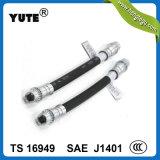 """Hl du boyau tressé flexible en caoutchouc 1/8 de frein hydraulique de Yute EPDM """""""
