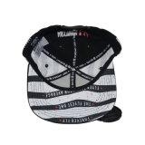 Черная Nylon крышка белой печати крышки спорта