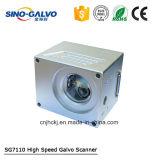 varredor do Galvo da marcação do laser da abertura Sg7110 de 10mm com motores do Galvo