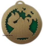 Het epoxy Antieke Brons van de Medaille van het Email, de Transparante Decoratie van de Sportuitrusting
