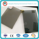 vidro de flutuador matizado cinzento escuro de 8mm do vidro de China
