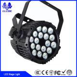 El PAR de la energía de 24 * 10W RGBW 4in1 puede iluminar la luz de la etapa del PAR LED