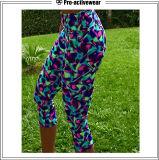 Calças brasileiras da ioga do Pro-Activewear desgaste ativo da aptidão de Lycra