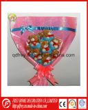 花嫁の結婚祝いのおもちゃの花のためのプラシ天のおもちゃ