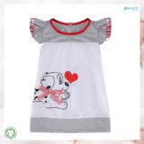 新しいデザイン赤ん坊の衣服の0首の女の赤ちゃんはTシャツに着せる