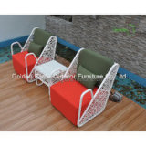 Hot Salts Garden White Rattan Outdoor Rattan Furniture