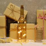 끈 병 당 결혼식 축제 선물이 AAA 건전지를 만드는 해바라기에 의하여 점화한다