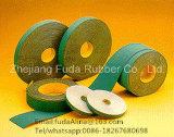 Correia de transmissão lisa de nylon de China do Sell quente verde e amarelo