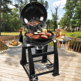 22inch Lokkiの贅沢な裏庭の木炭BBQのグリル